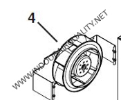 18198 BLOWER WHEEL ASSEMBLY